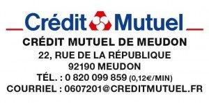 Merci à notre partenaire Crédit Mutuel pour son soutien
